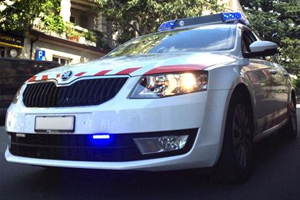 Auto-Lumière, garage Lausanne police