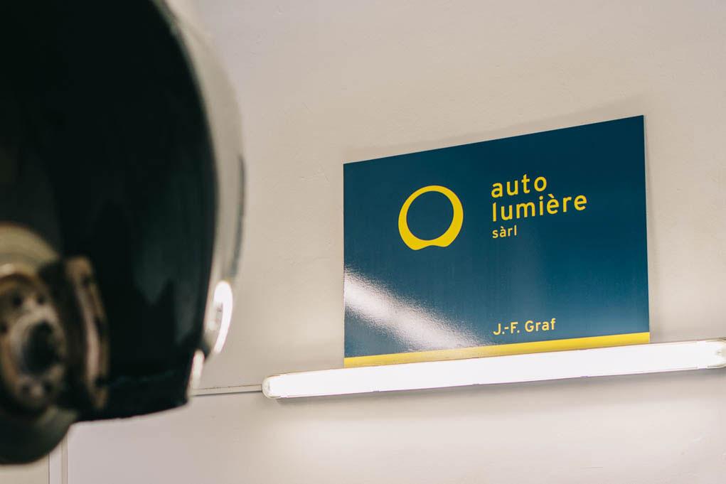 Auto-Lumière, garage Lausanne